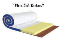 Мини-матрас Flex 2в1 Kokos