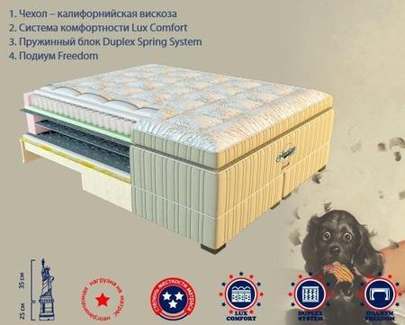 Ортопедический матрас American Dream Lincoln