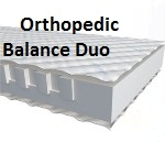 Матрас Doctor Health Orthopedic Balance Duo