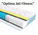 Матрас Sleep&Fly Optima 2в1 Fitness